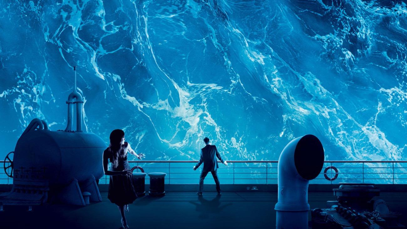 Poseidon backdrop