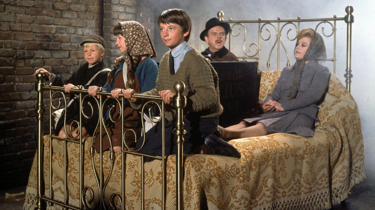 Bedknobs and Broomsticks backdrop