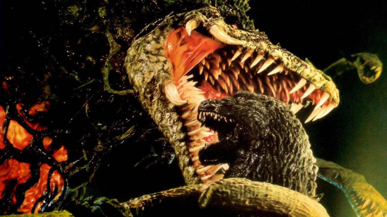 Godzilla vs. Biollante backdrop