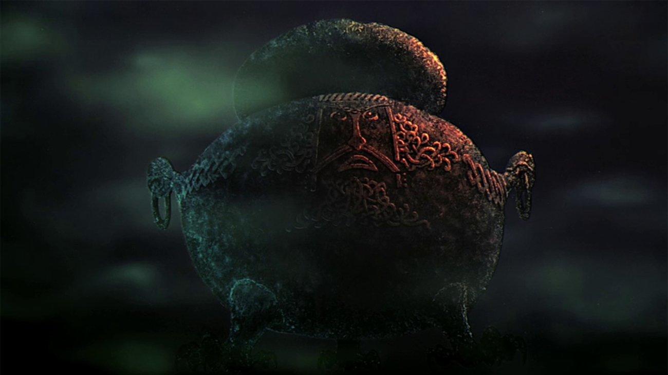 The Black Cauldron backdrop