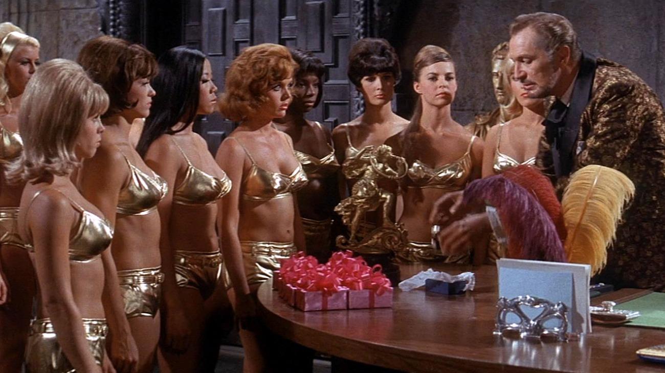 Dr. Goldfoot and the Bikini Machine backdrop