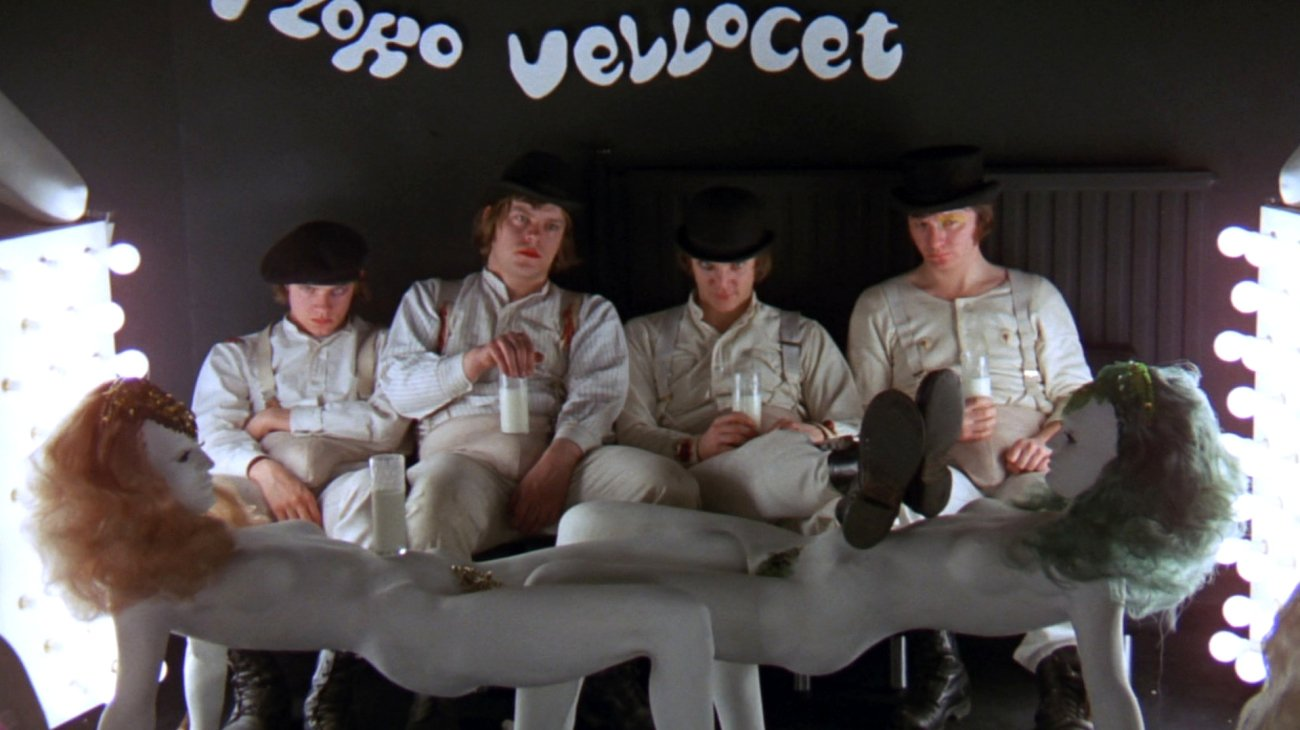 A Clockwork Orange backdrop