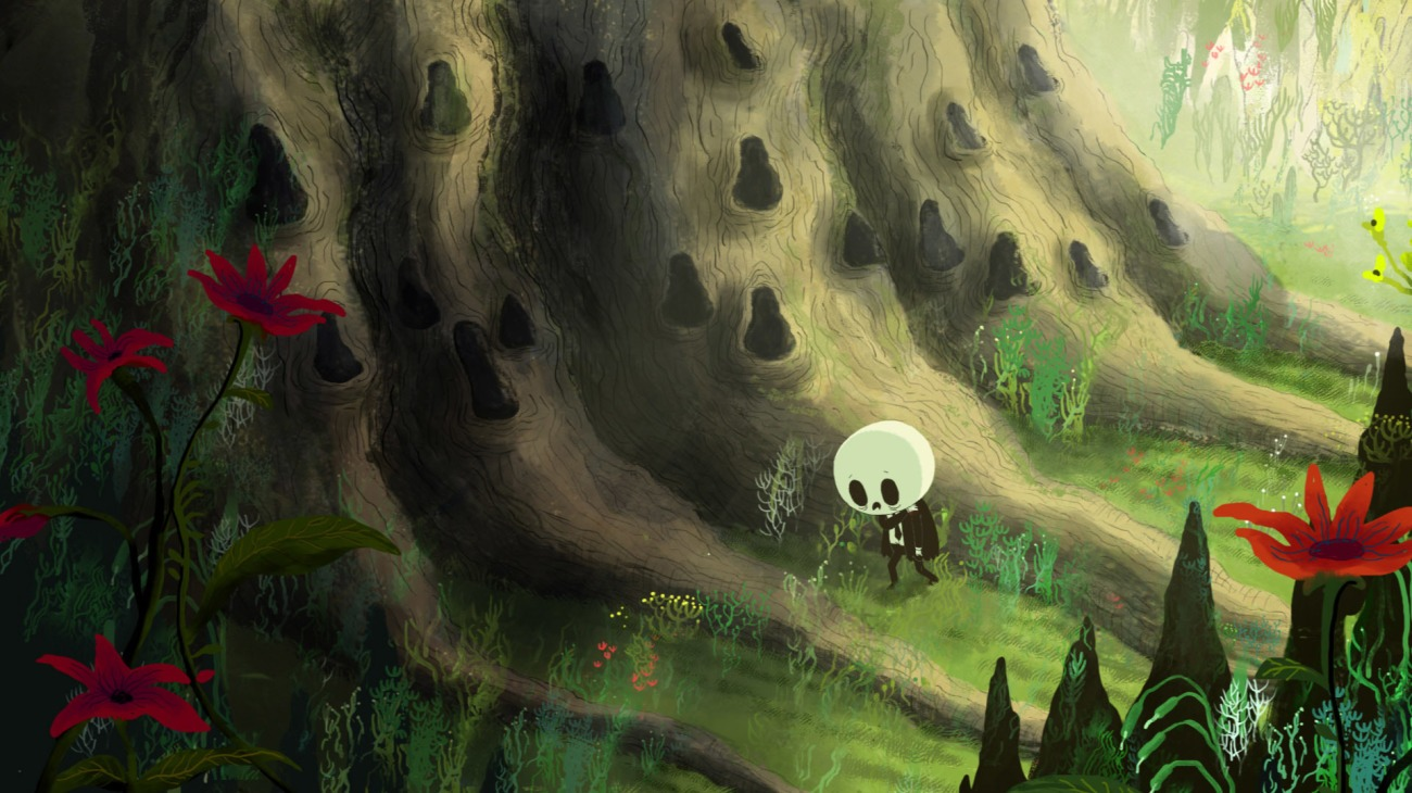 Birdboy: The Forgotten Children backdrop