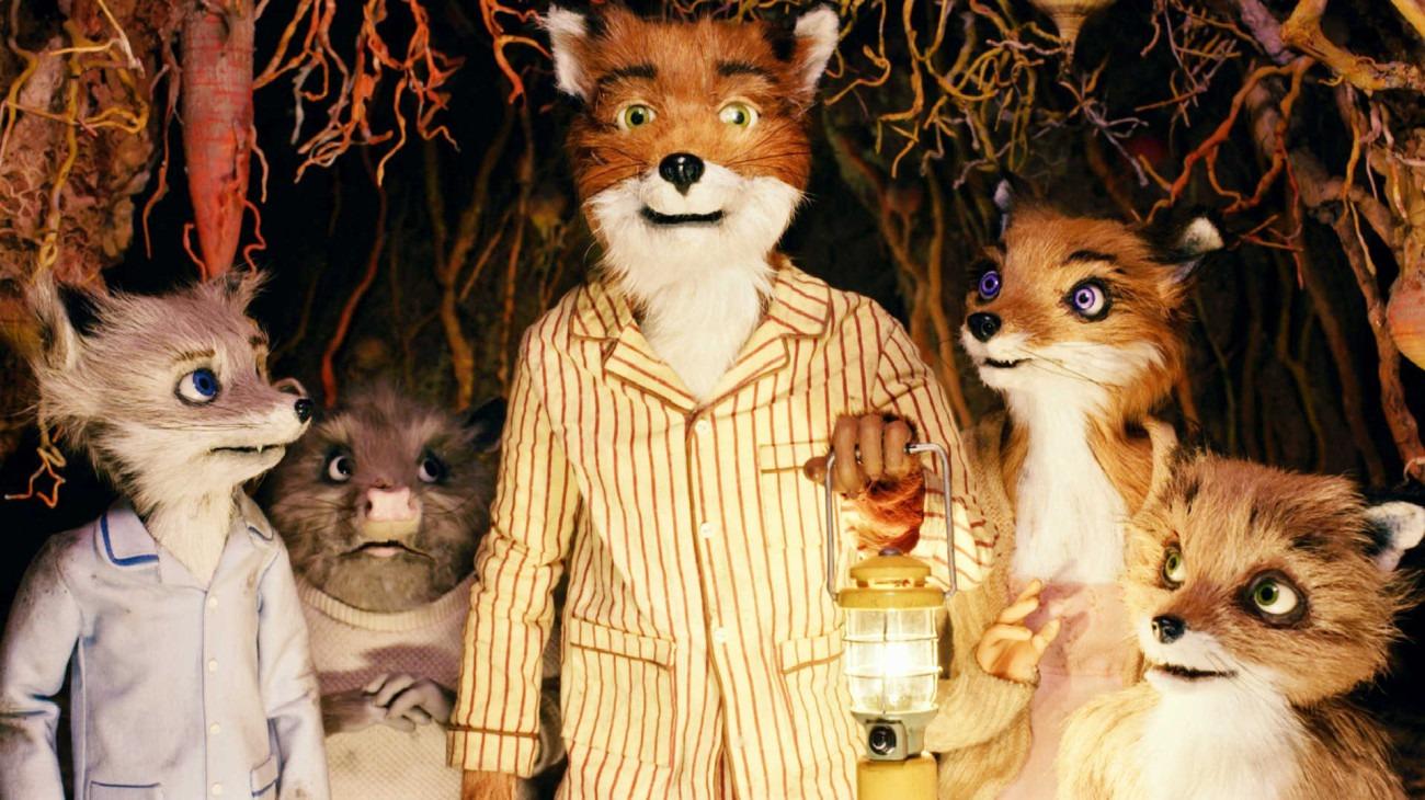 Fantastic Mr. Fox backdrop