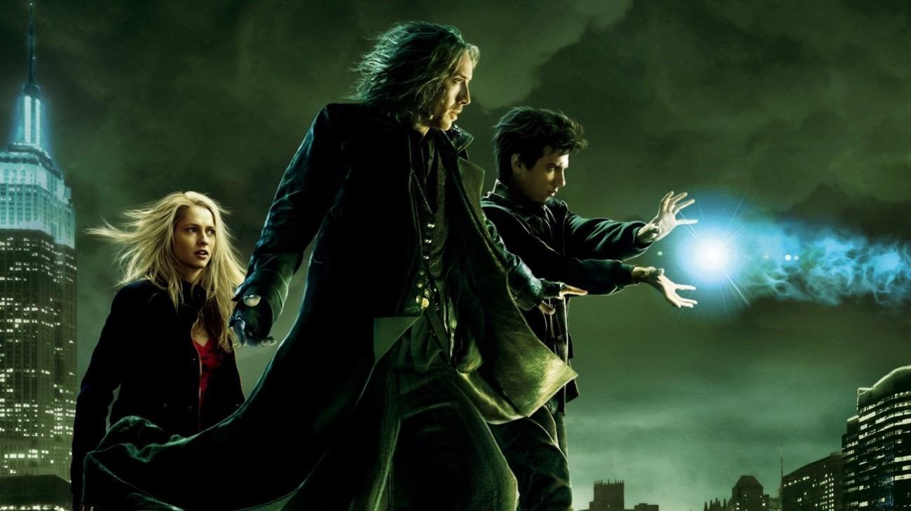 The Sorcerer's Apprentice backdrop