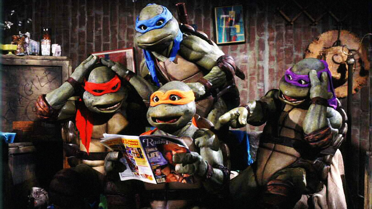 Teenage Mutant Ninja Turtles backdrop