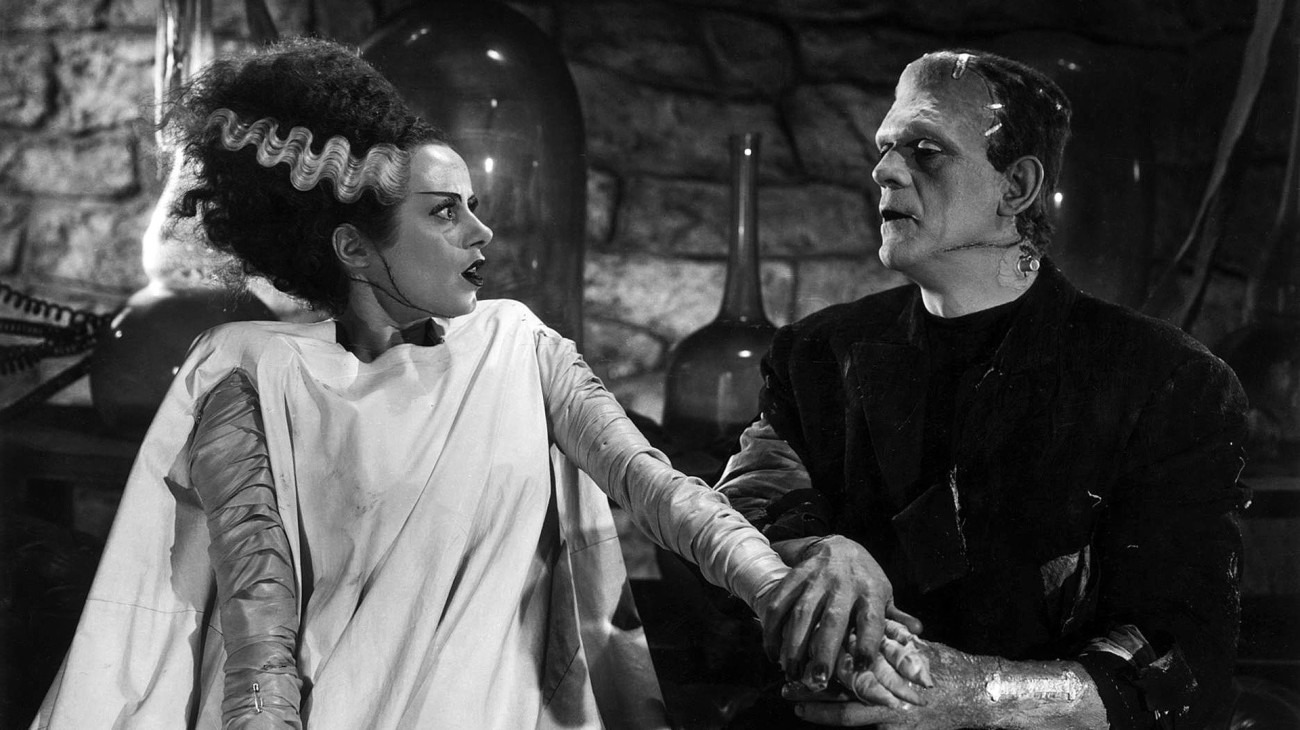 Bride of Frankenstein backdrop