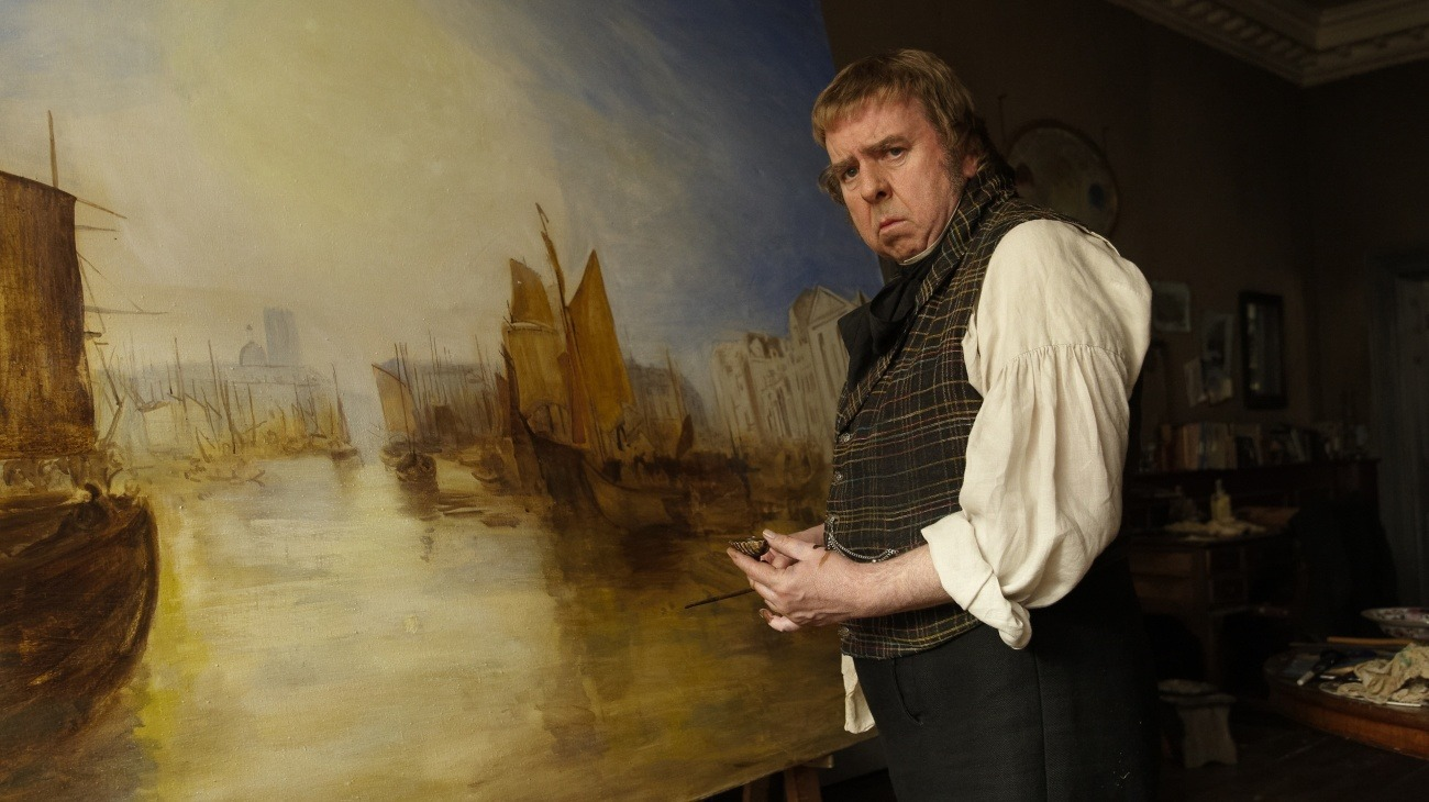 Mr. Turner backdrop