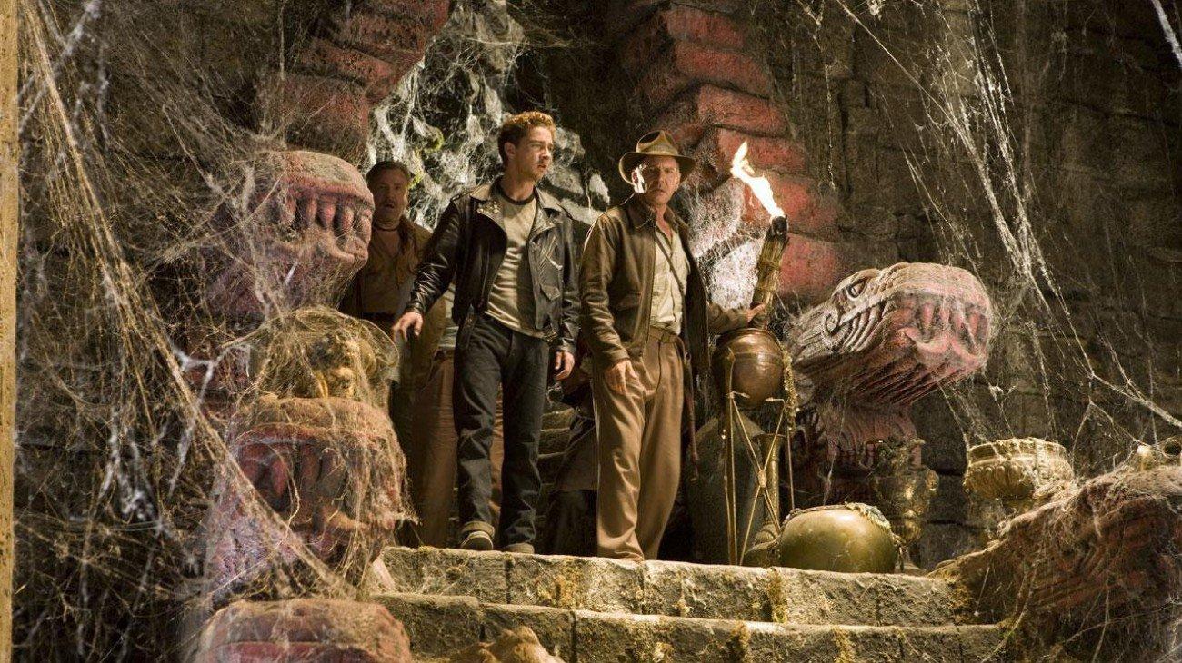 Indiana Jones and the Kingdom of the Crystal Skull backdrop