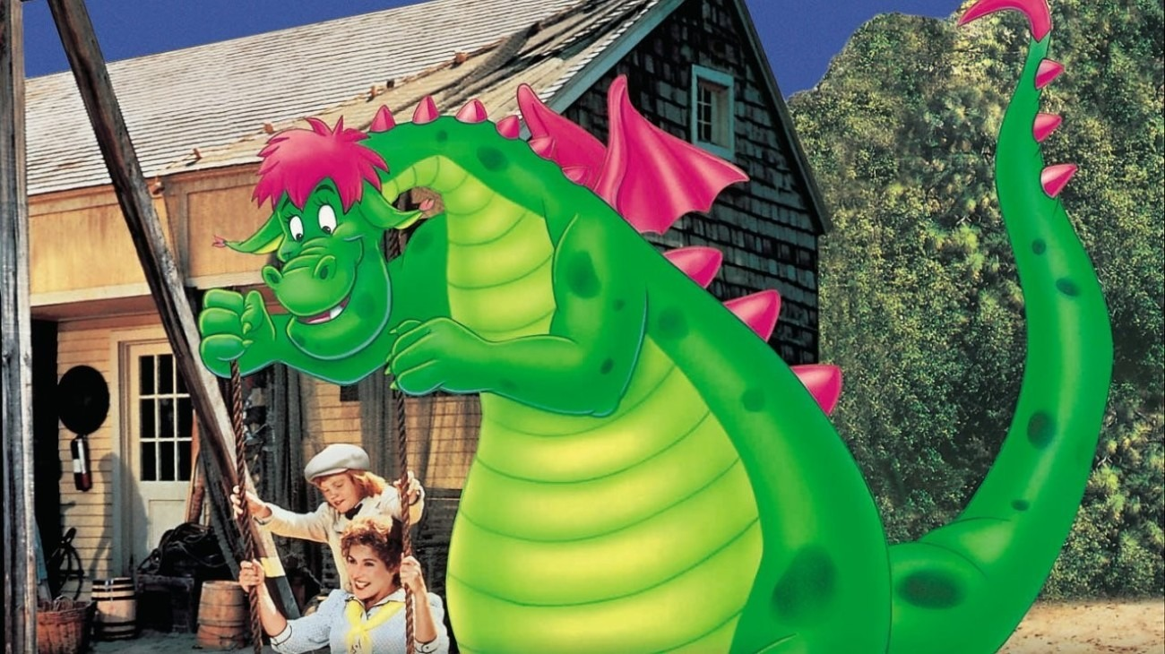 Pete's Dragon backdrop