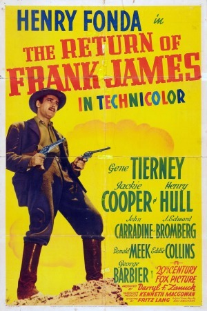 The Return of Frank James poster