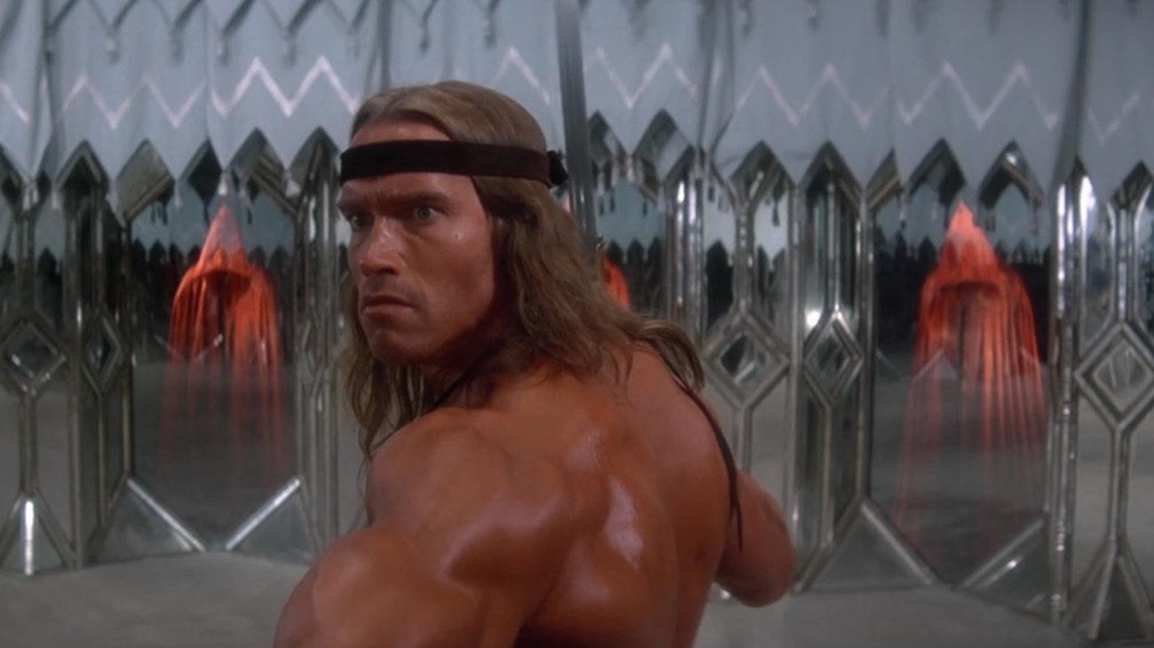 Conan the Destroyer backdrop