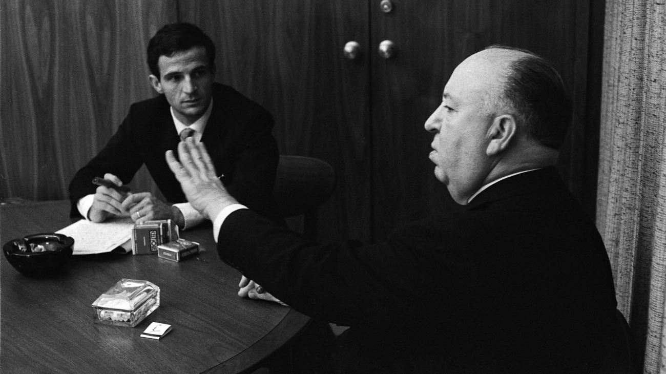 Hitchcock/Truffaut backdrop