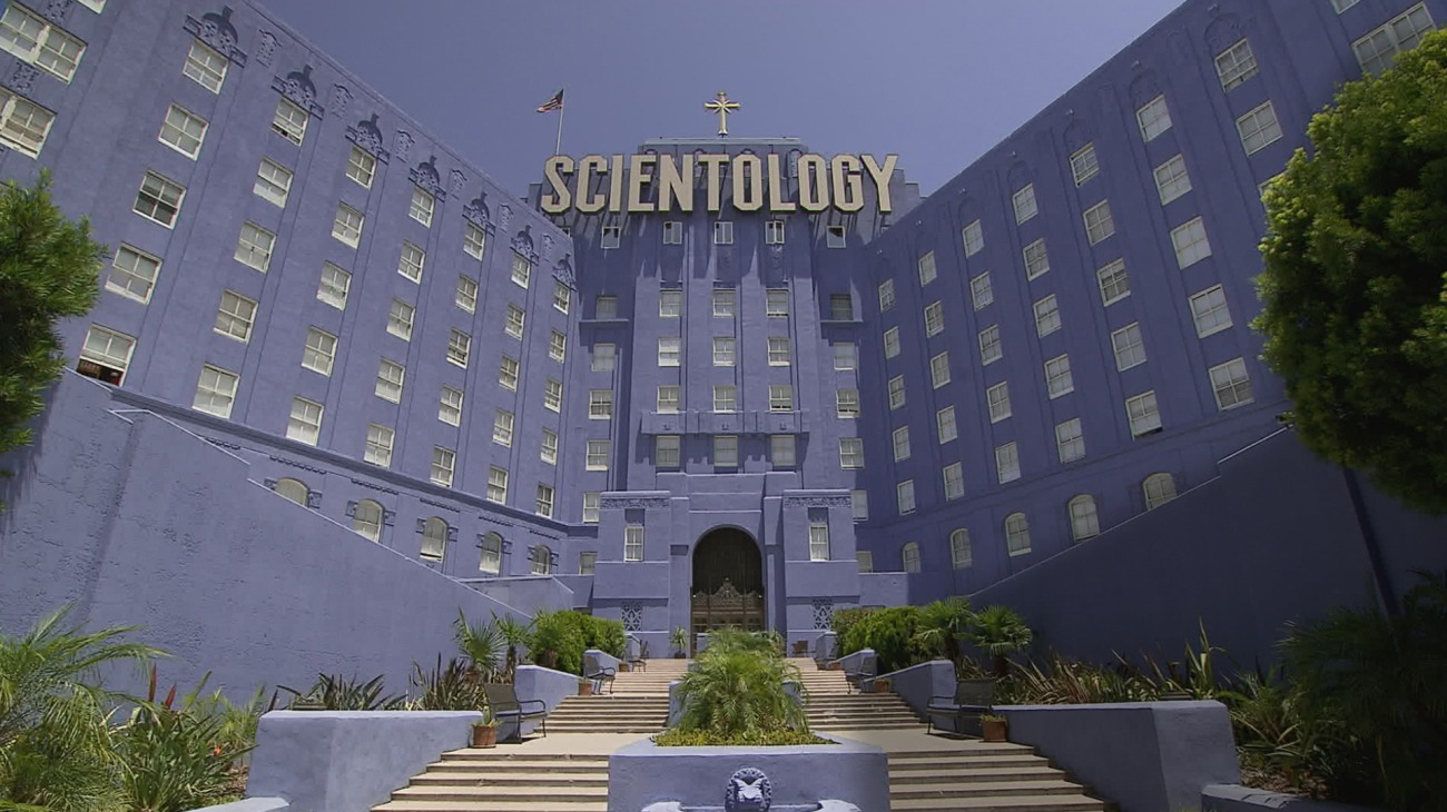 Going Clear: Scientology and the Prison of Belief backdrop