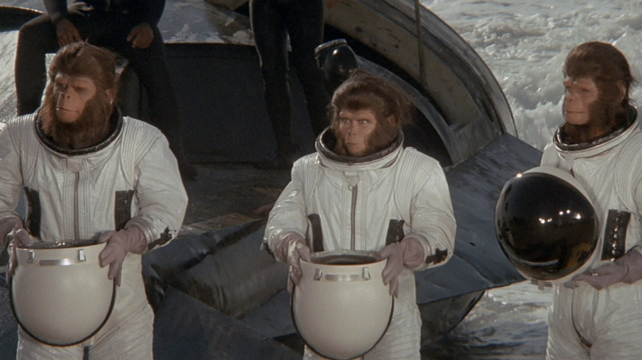 Escape from the Planet of the Apes backdrop