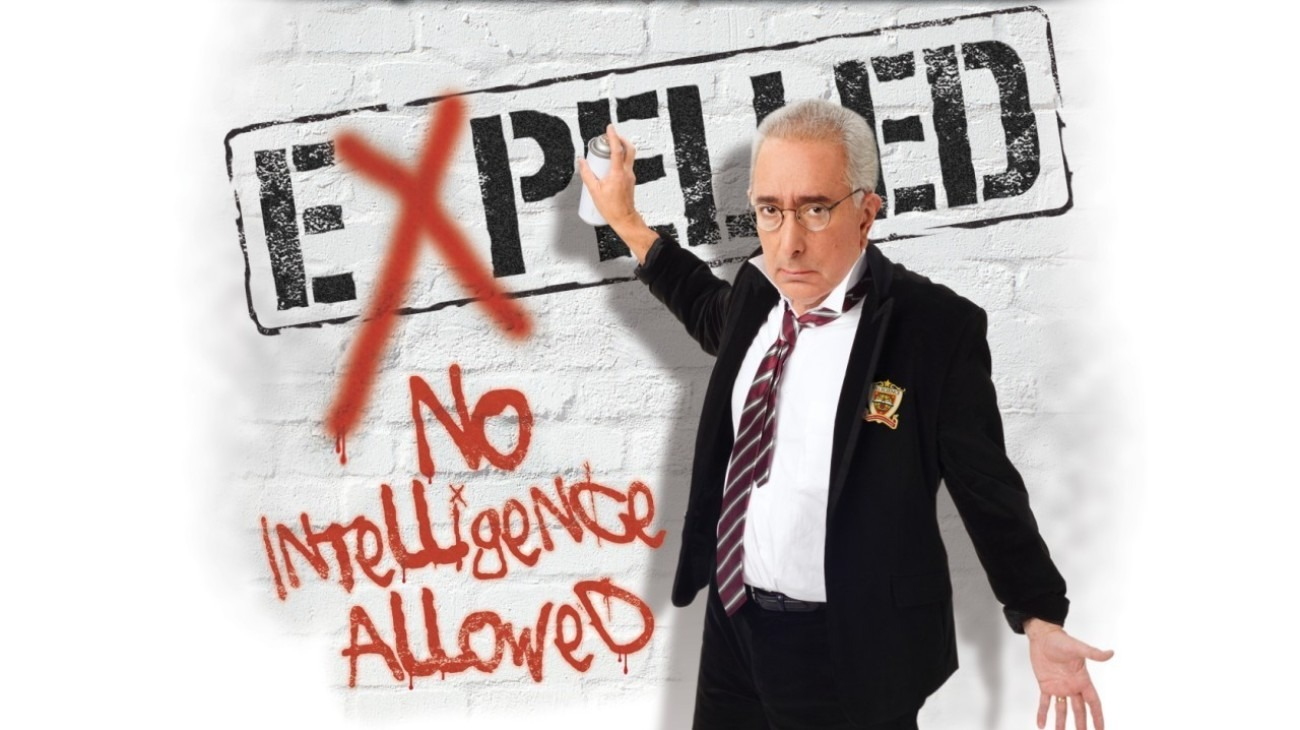 Expelled: No Intelligence Allowed backdrop