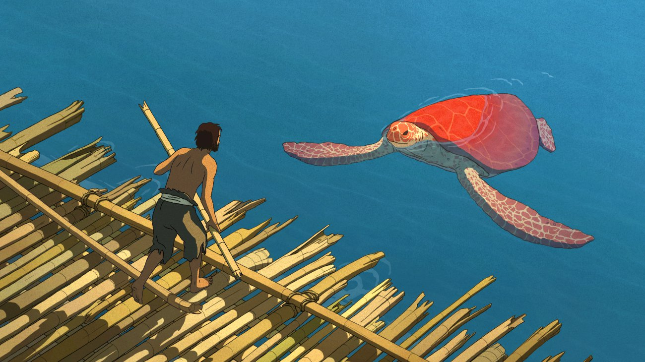 The Red Turtle backdrop