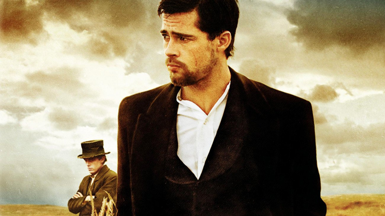 The Assassination of Jesse James by the Coward Robert Ford backdrop