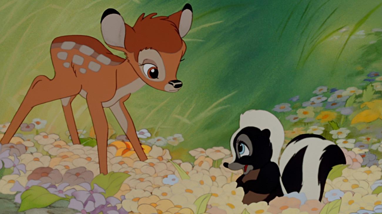 Bambi backdrop
