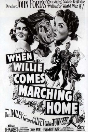When Willie Comes Marching Home poster