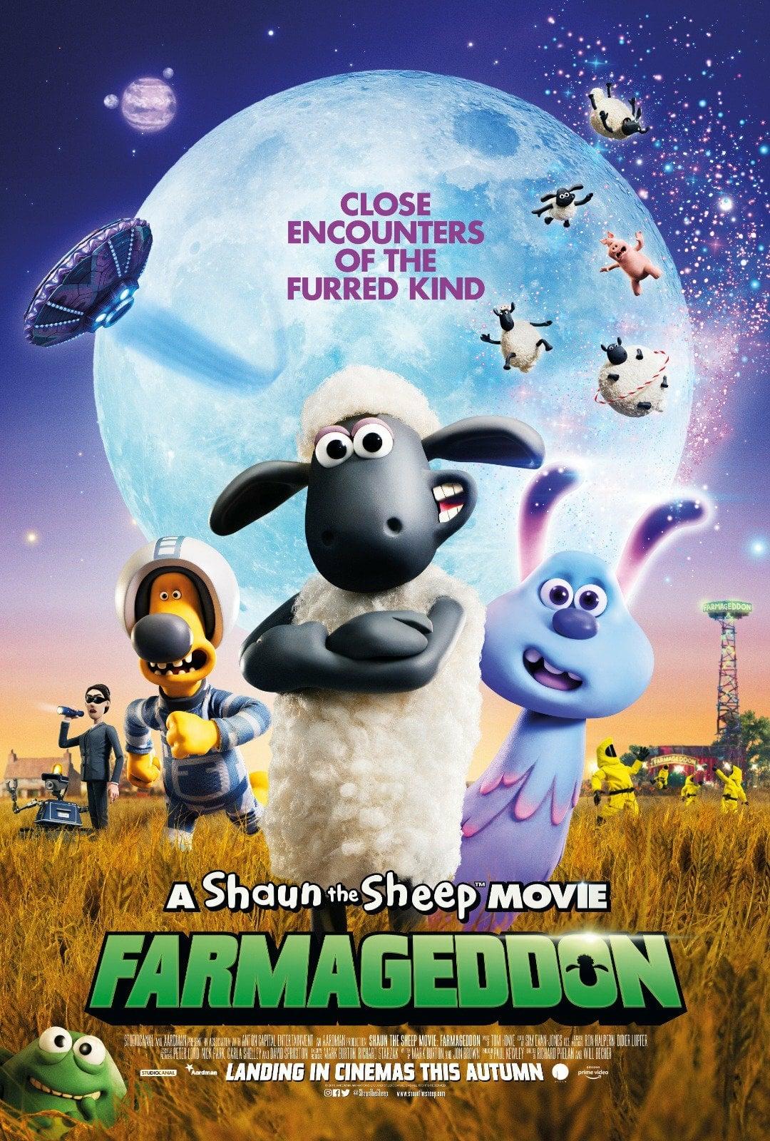 A Shaun the Sheep Movie: Farmageddon poster