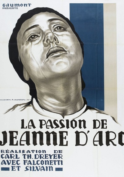 The Passion of Joan of Arc poster