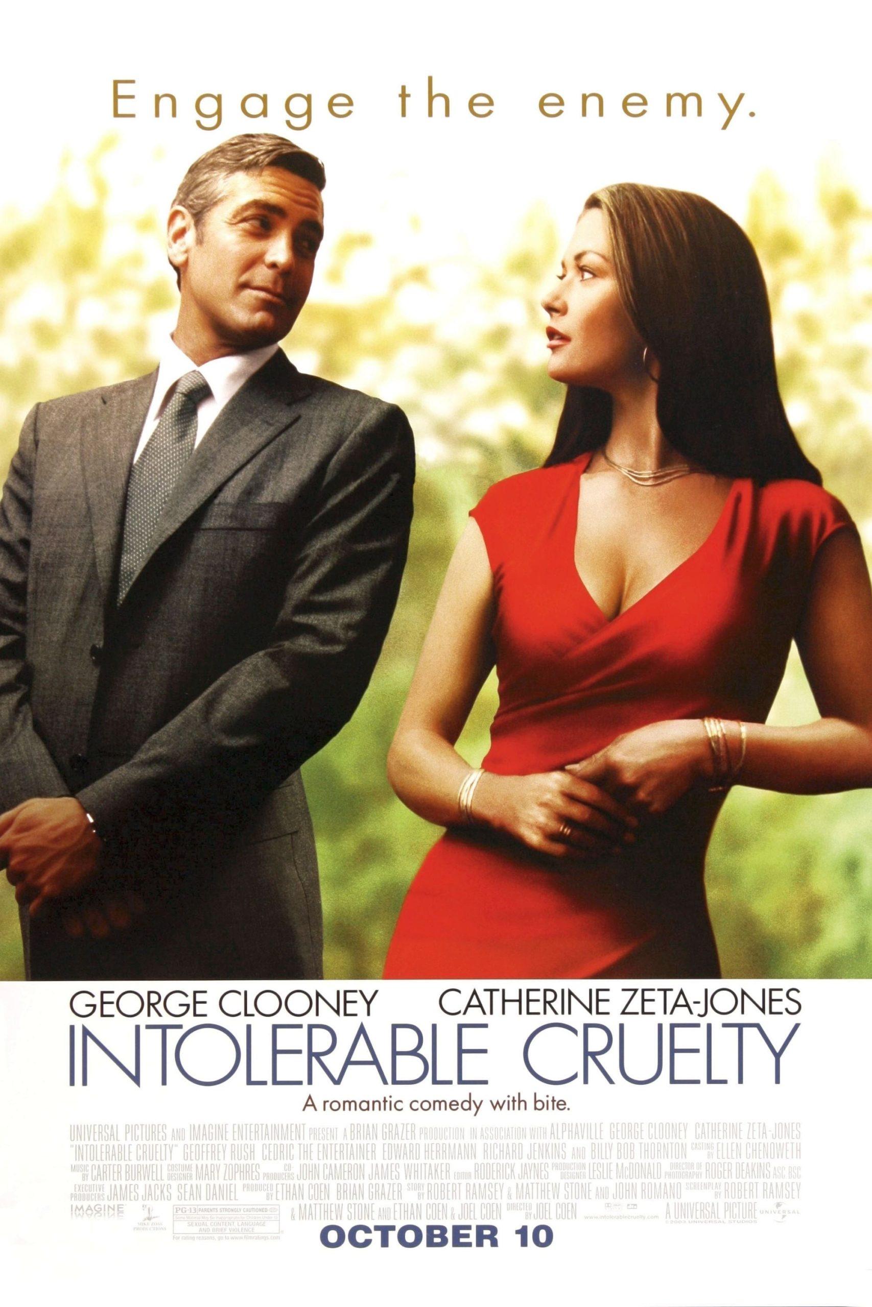 Intolerable Cruelty poster