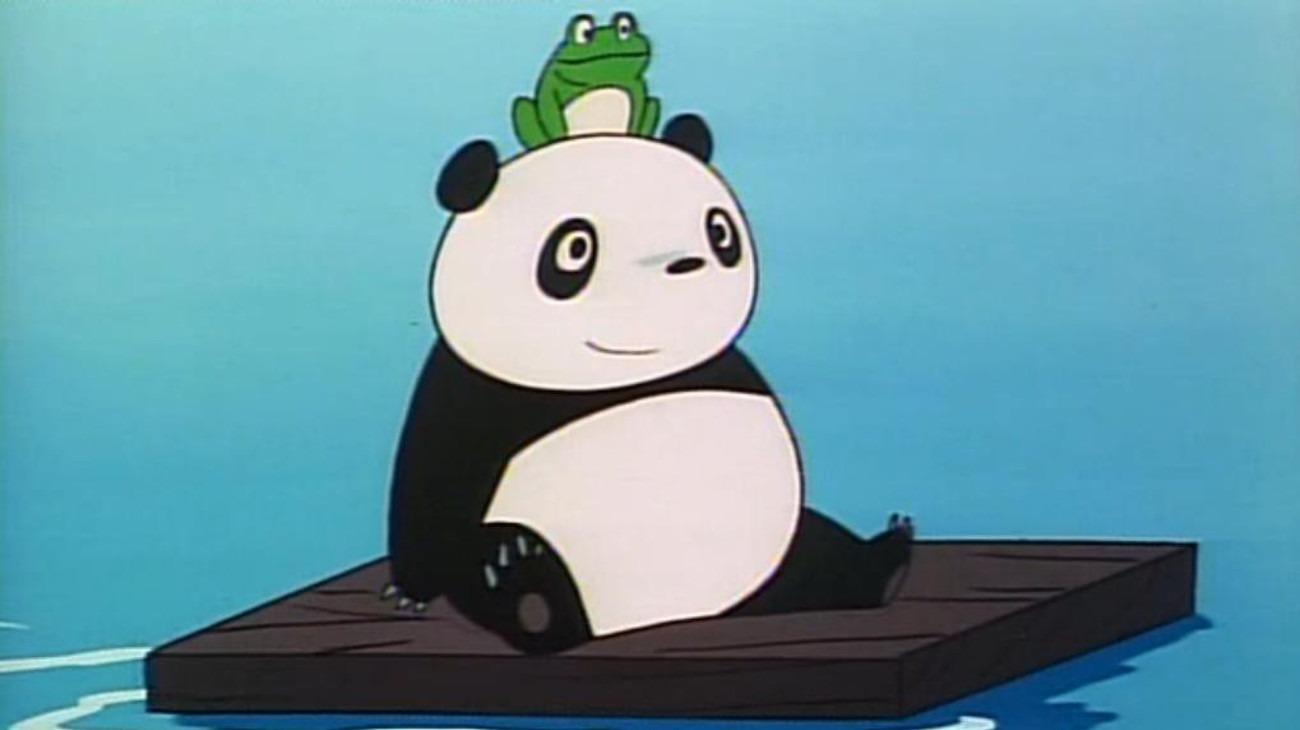 Panda! Go, Panda! backdrop