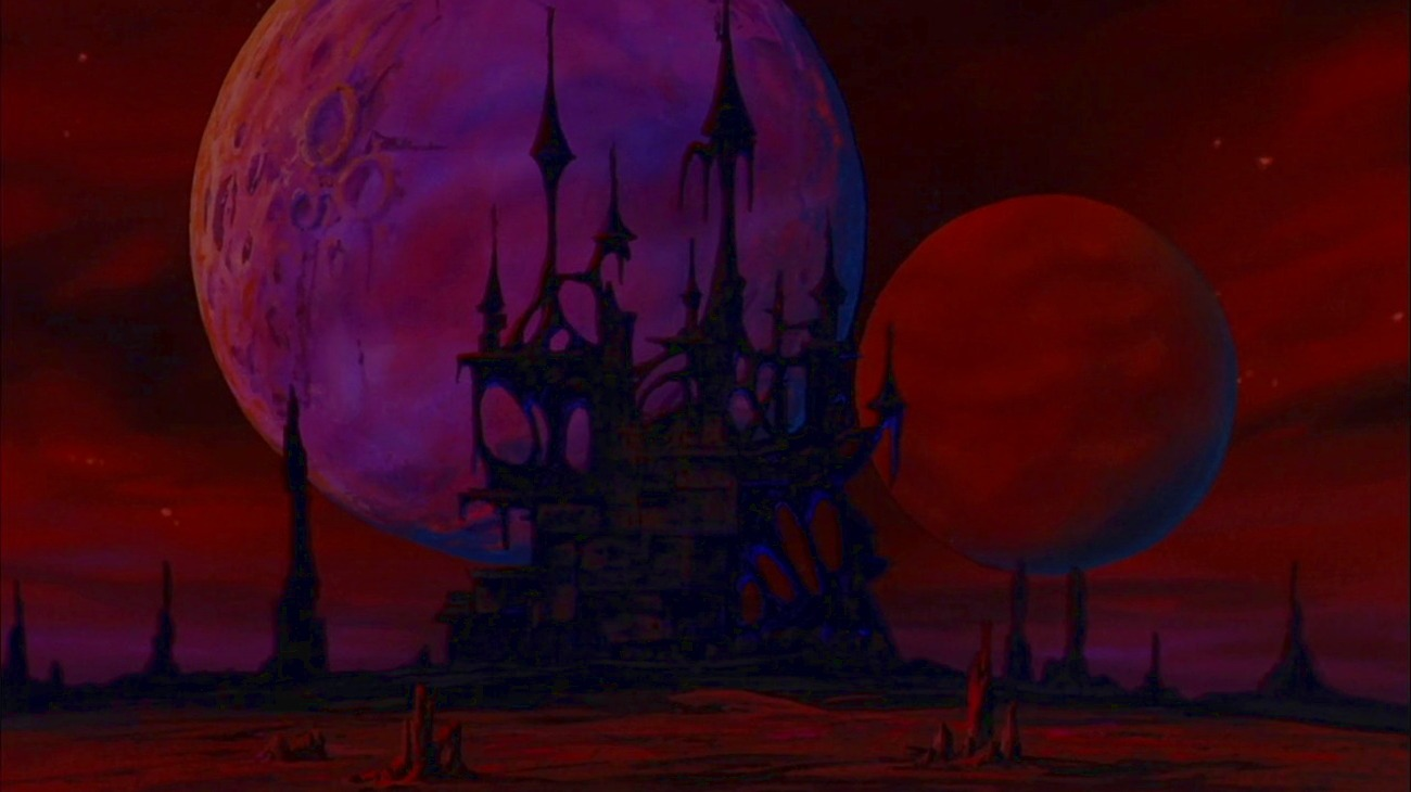 Vampire Hunter D backdrop