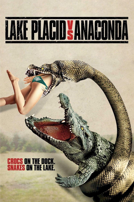 Lake Placid vs. Anaconda poster