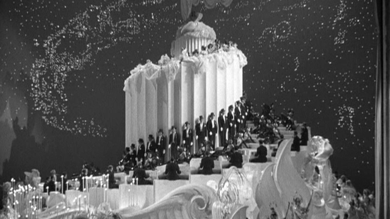 The Great Ziegfeld backdrop