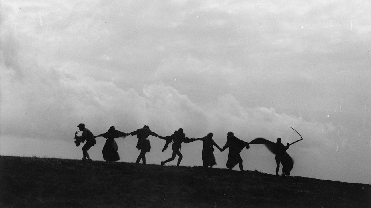 The Seventh Seal backdrop