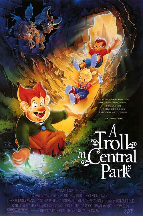 A Troll in Central Park poster