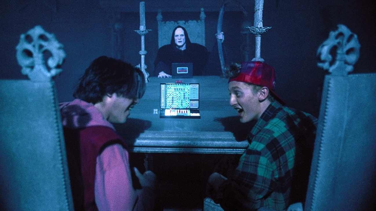 Bill & Ted's Bogus Journey backdrop
