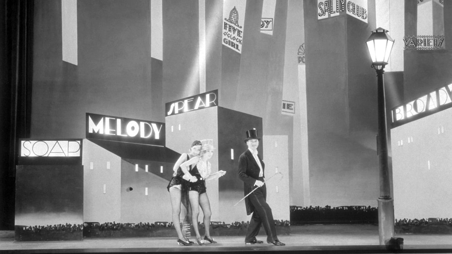The Broadway Melody backdrop