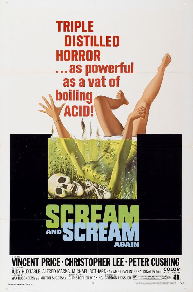 Scream and Scream Again poster