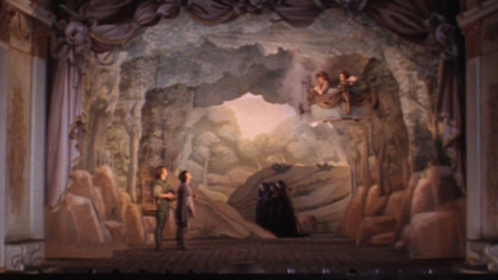 The Magic Flute backdrop