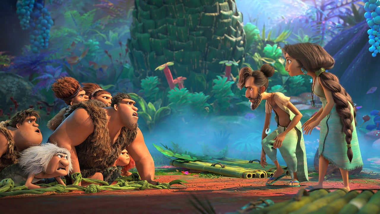 The Croods: A New Age backdrop