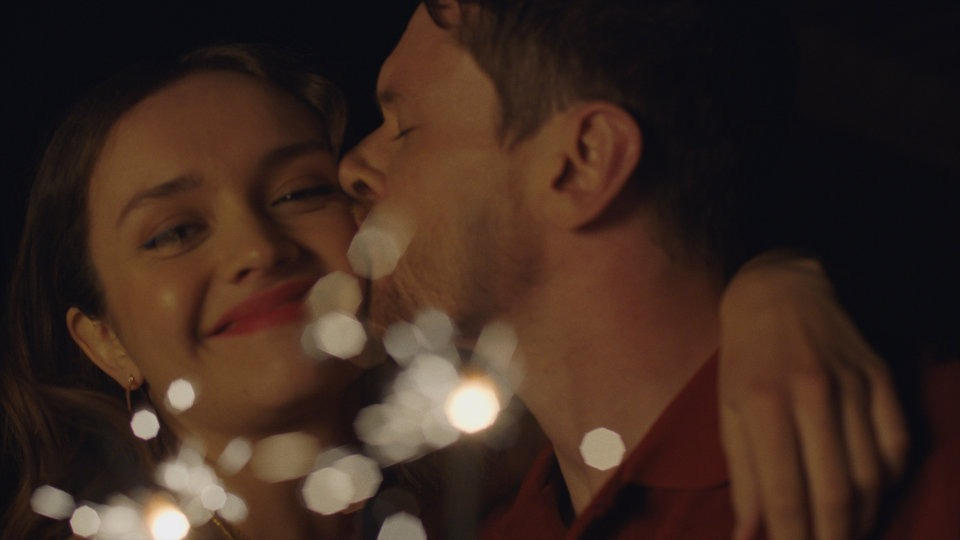 Olivia Cooke and Jack O'Connell in Little Fish