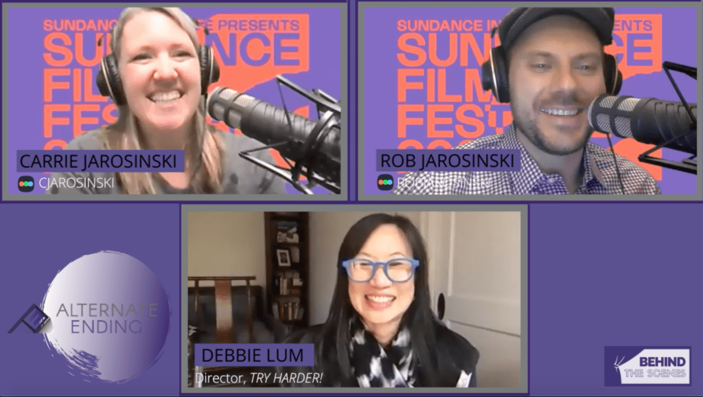 Live interview with Debbie Lum