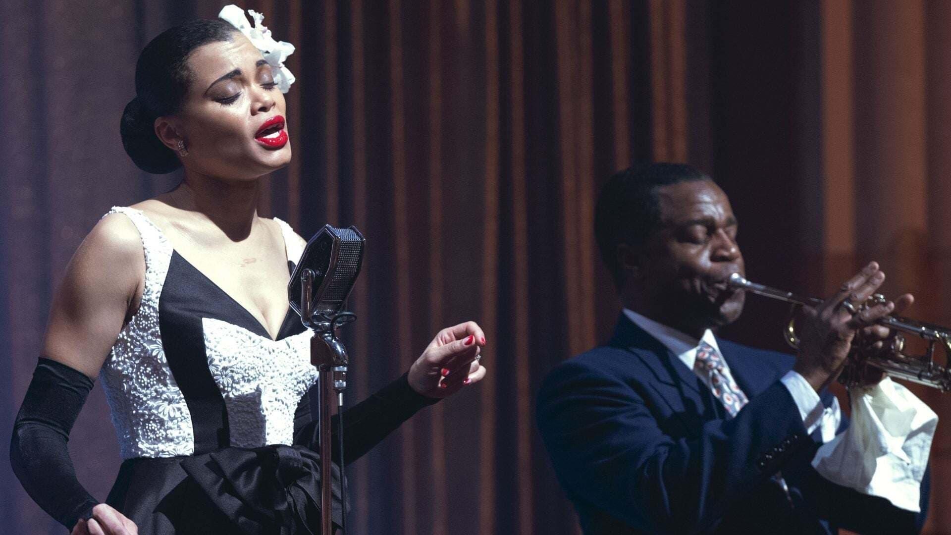Billie Holiday backdrop