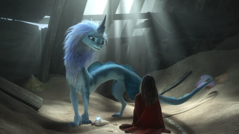Raya and the Last Dragon backdrop