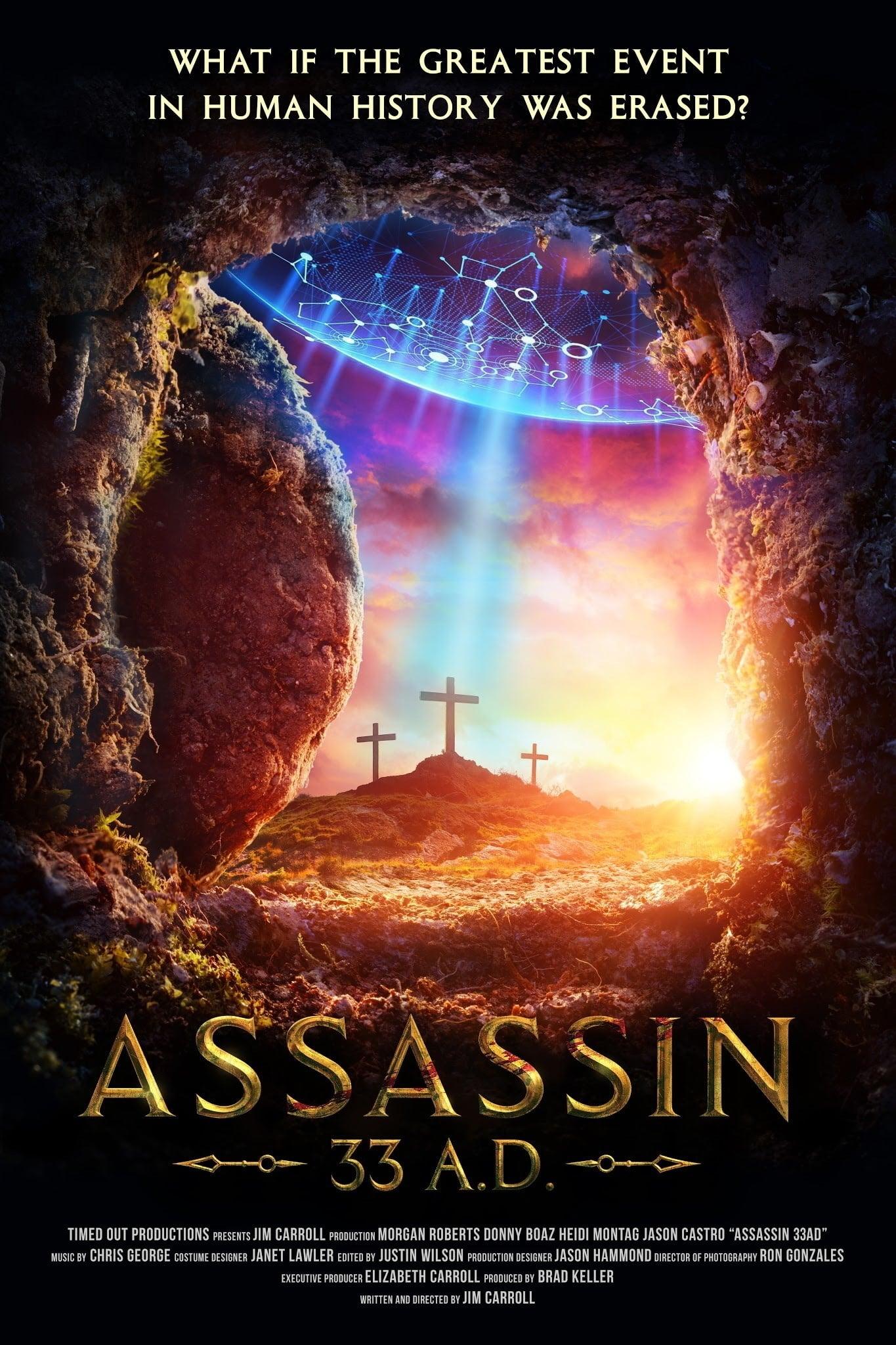 Assassin 33 A.D. poster