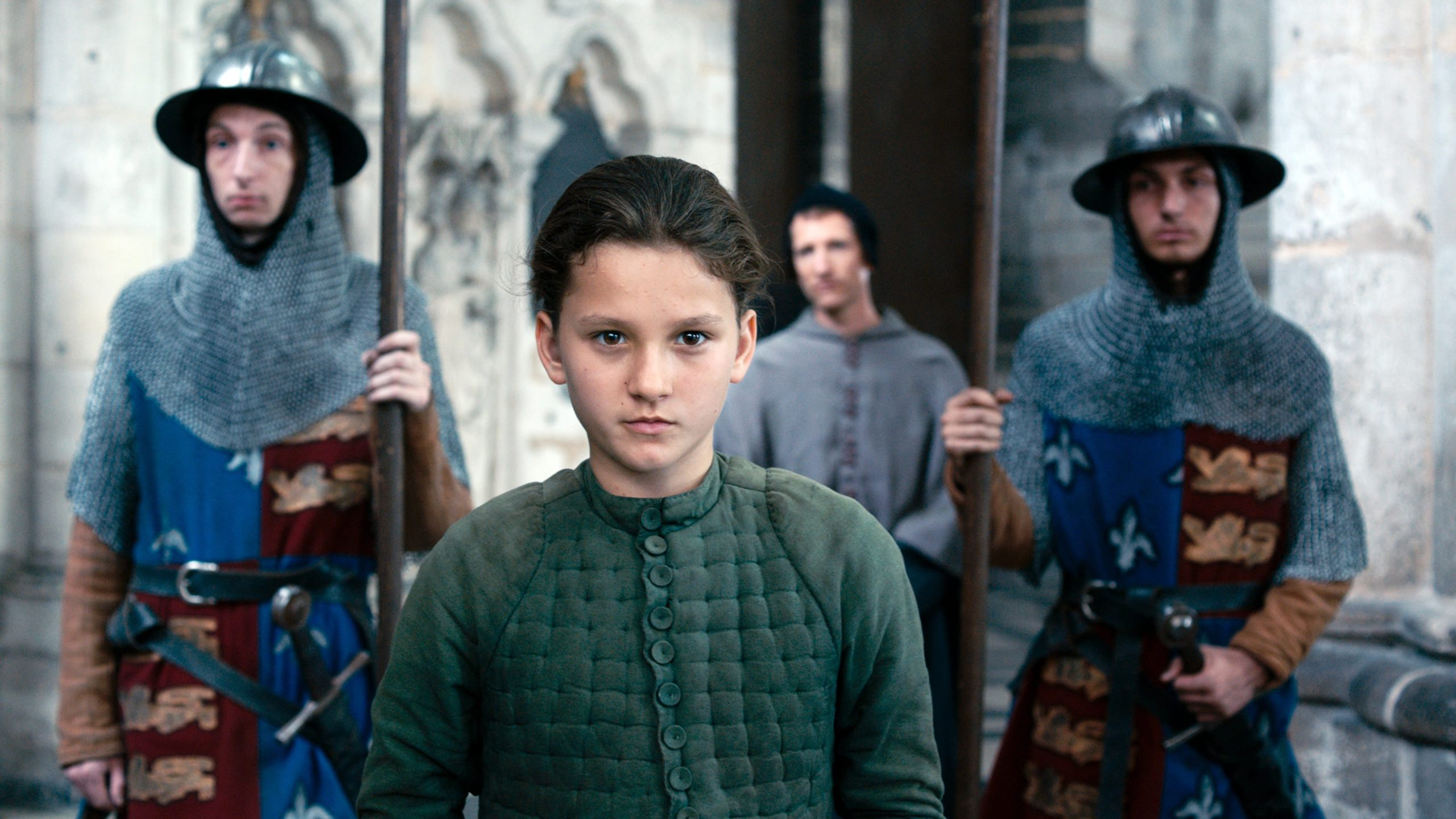 Joan of Arc backdrop