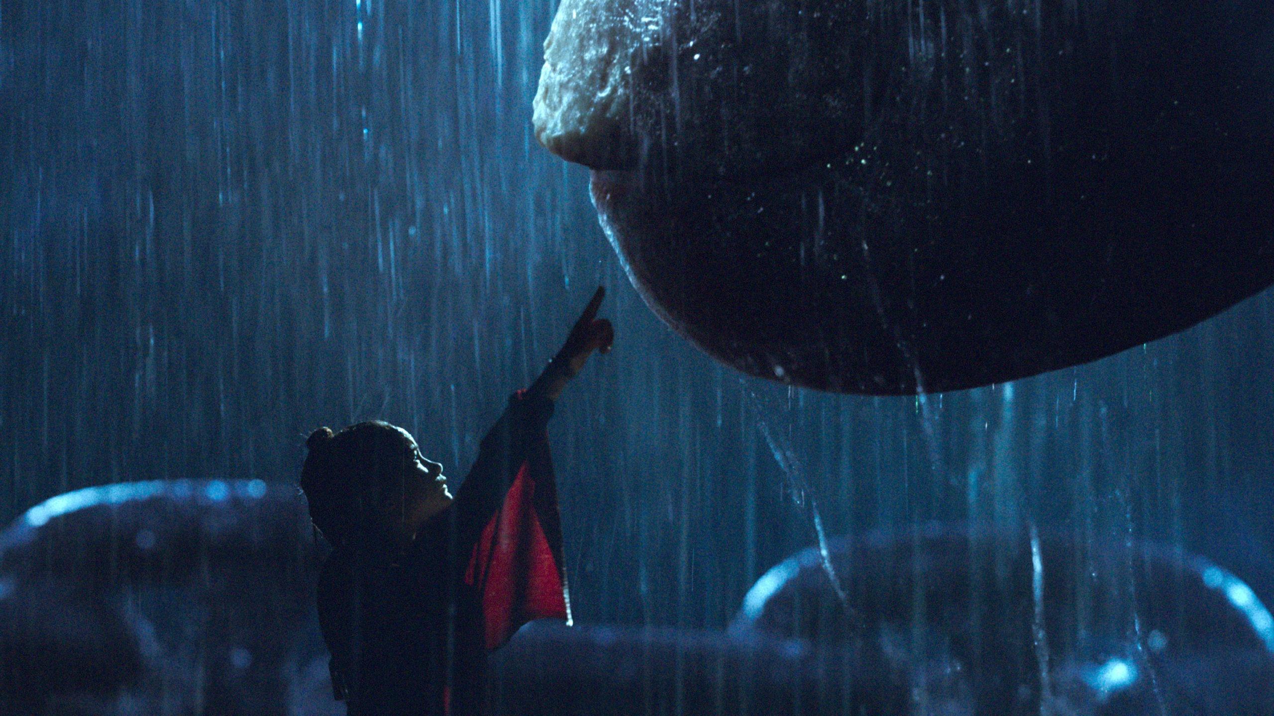 Godzilla vs Kong backdrop
