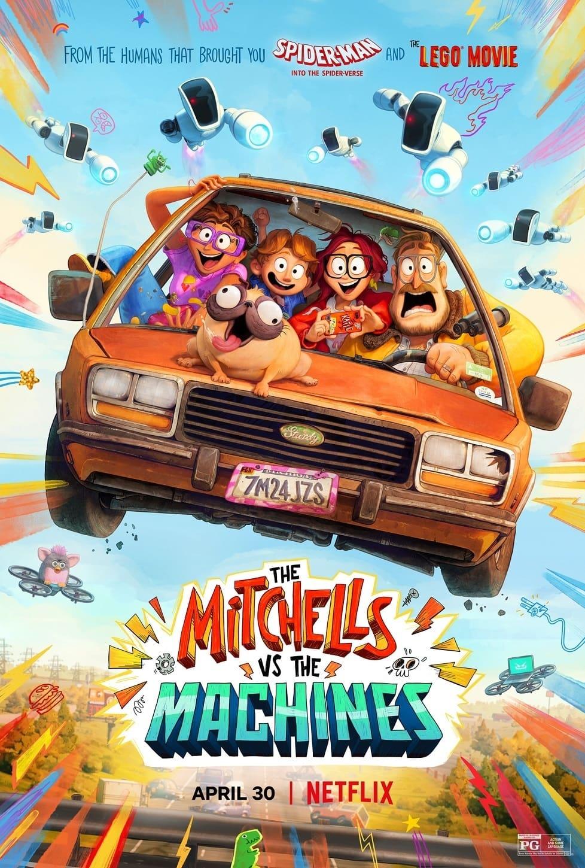 The Mitchells vs. the Machines poster