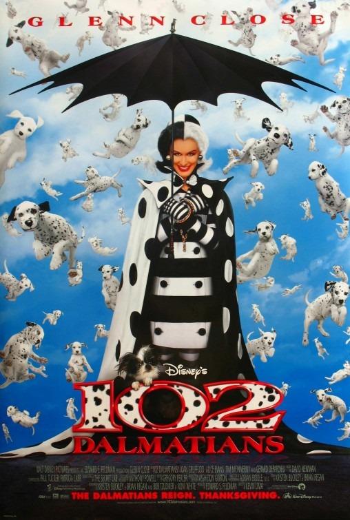 102 Dalmatians poster