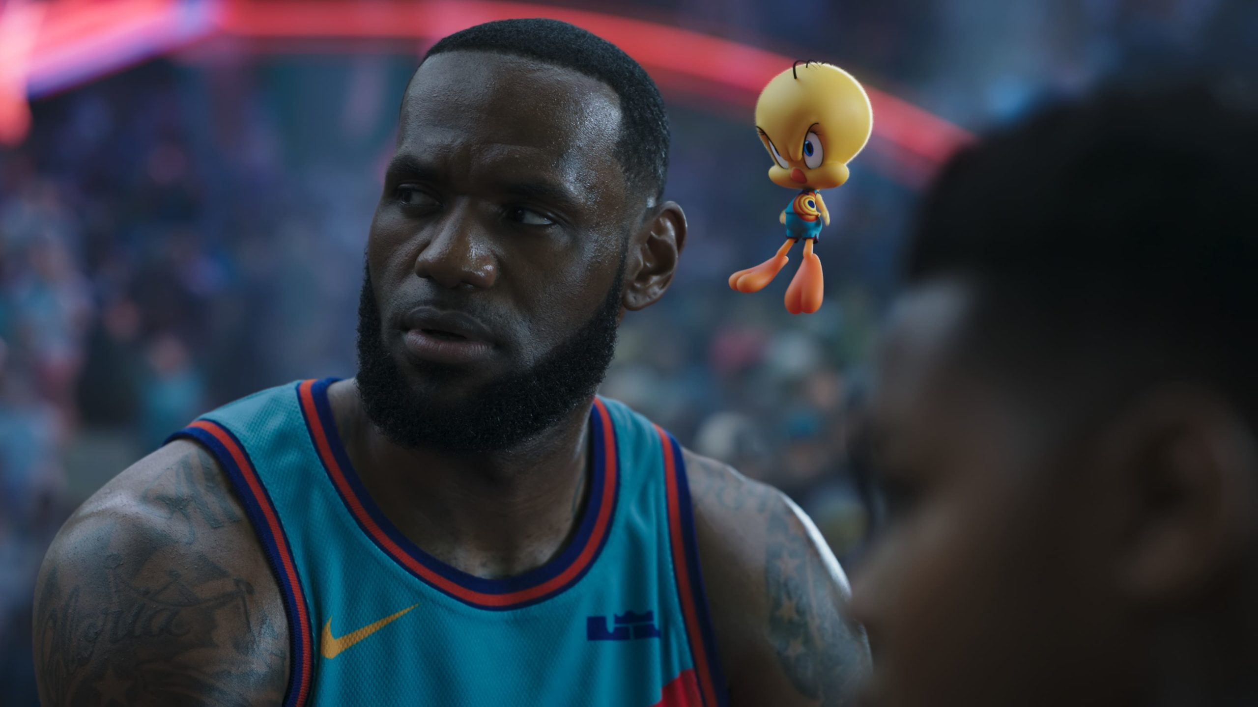 Space Jam: A New Legacy backdrop