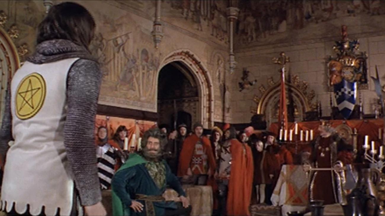 Gawain and the Green Knight backdrop
