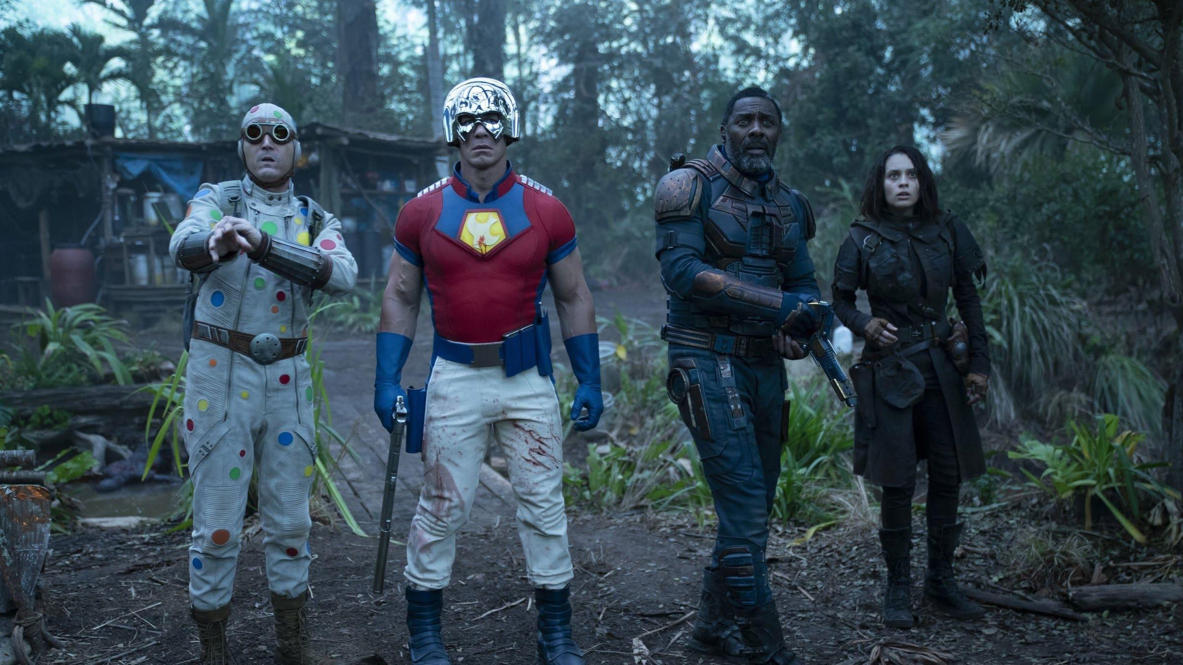 The Suicide Squad backdrop